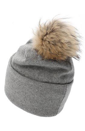 Женская шапка BILANCIONI серого цвета, арт. 4914CM   Фото 2