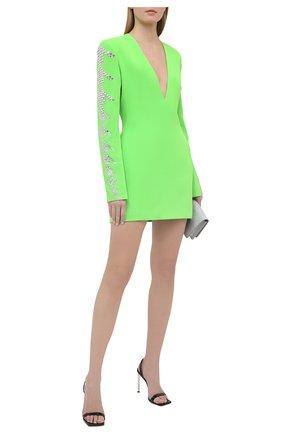 Женское платье DAVID KOMA зеленого цвета, арт. AW20DK58D | Фото 2