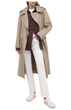Женские джинсы PAIGE белого цвета, арт. 6439208-7720 | Фото 2