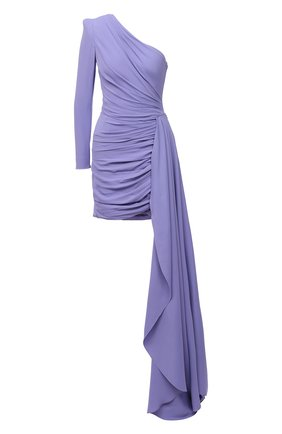 Женское платье из вискозы ZUHAIR MURAD фиолетового цвета, арт. DRF21021/CRCA008 | Фото 1