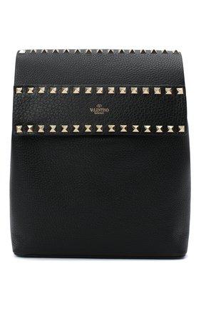 Женский рюкзак rockstud VALENTINO черного цвета, арт. VW2B0H60/YRK | Фото 1