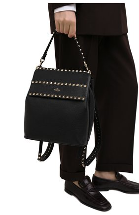 Женский рюкзак rockstud VALENTINO черного цвета, арт. VW2B0H60/YRK | Фото 2