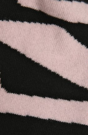 Женский шерстяной шарф OFF-WHITE черного цвета, арт. 0WMA017R21KNI001 | Фото 2