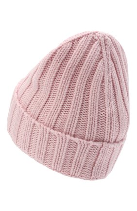 Женская шерстяная шапка OFF-WHITE розового цвета, арт. 0WLA008R21KNI001 | Фото 2