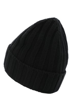 Женская шерстяная шапка OFF-WHITE черного цвета, арт. 0WLA008R21KNI001 | Фото 2