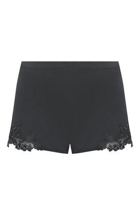 Женские шорты LA PERLA темно-серого цвета, арт. 0043210 | Фото 1