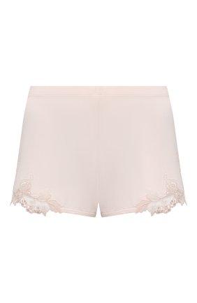 Женские шорты LA PERLA светло-розового цвета, арт. 0043210 | Фото 1