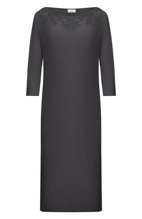 Женская сорочка LA PERLA темно-серого цвета, арт. 0043220 | Фото 1