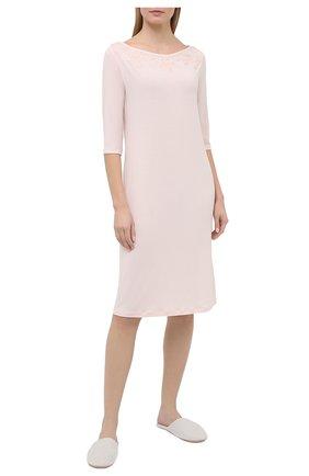 Женская сорочка LA PERLA светло-розового цвета, арт. 0043220 | Фото 2