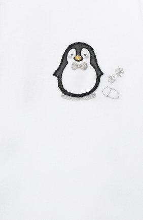 Детский хлопковый комбинезон MAGNOLIA BABY серого цвета, арт. 788-805-SV | Фото 3