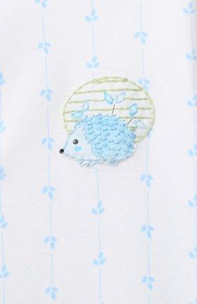 Детский хлопковый комбинезон MAGNOLIA BABY голубого цвета, арт. 861-805-LB | Фото 3