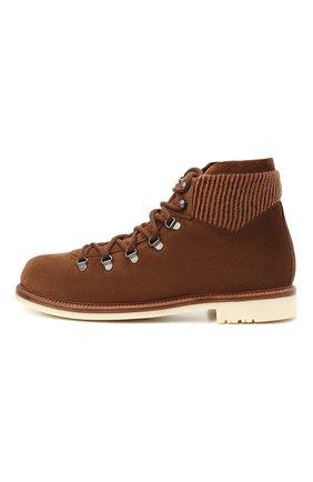 Мужские замшевые ботинки LORO PIANA светло-коричневого цвета, арт. FAL4424 | Фото 3