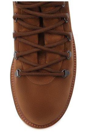 Мужские замшевые ботинки LORO PIANA светло-коричневого цвета, арт. FAL4424 | Фото 5