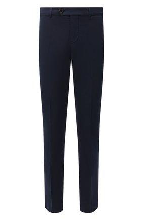 Мужские хлопковые брюки BRUNELLO CUCINELLI синего цвета, арт. M289LB1770 | Фото 1