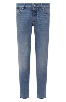 Мужские джинсы BRUNELLO CUCINELLI голубого цвета, арт. M283PB2210 | Фото 1