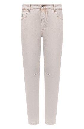 Мужские джинсы BRUNELLO CUCINELLI бежевого цвета, арт. M0H43X1290 | Фото 1