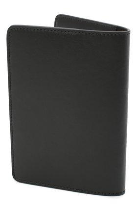 Мужской кожаная обложка для паспорта OFF-WHITE черно-белого цвета, арт. 0MNC010R21LEA001 | Фото 2