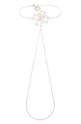 Женский браслет изморозь DZHANELLI серебряного цвета, арт. 0239 | Фото 2