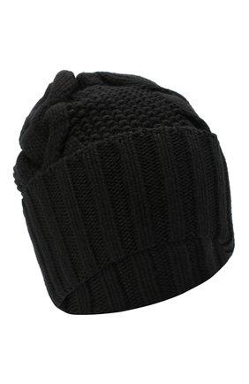 Женская шапка BILANCIONI черного цвета, арт. 5153CM   Фото 1