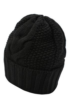 Женская шапка BILANCIONI черного цвета, арт. 5153CM   Фото 2
