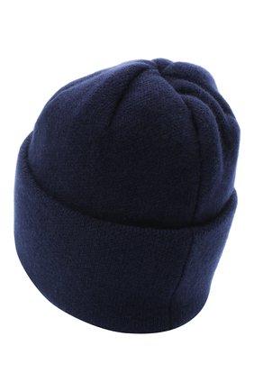 Женская шапка BILANCIONI темно-синего цвета, арт. 4906CM   Фото 2