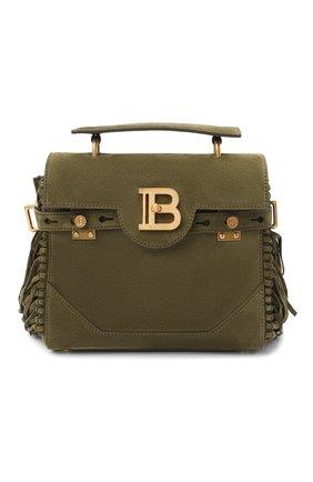 Женская сумка bbuzz 23 BALMAIN хаки цвета, арт. VN1S534/LCRF | Фото 1