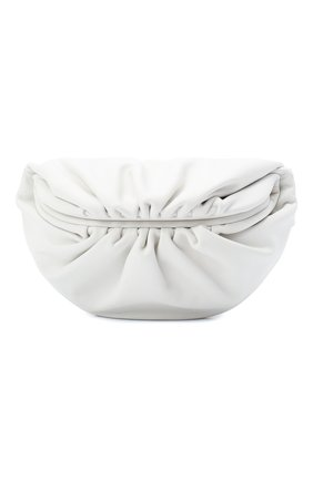 Женская поясная сумка the belt chain pouch BOTTEGA VENETA белого цвета, арт. 651445/VCP41 | Фото 1