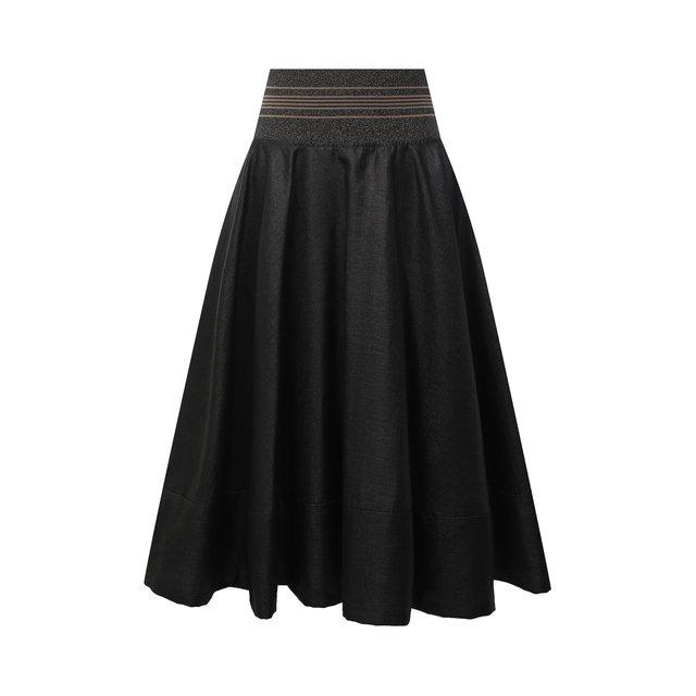 Льняная юбка Brunello Cucinelli