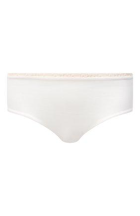 Женские трусы-шорты LA PERLA белого цвета, арт. 0043640 | Фото 1