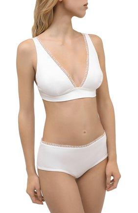Женские трусы-шорты LA PERLA белого цвета, арт. 0043640 | Фото 2