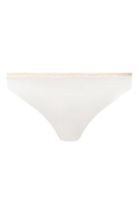 Женские трусы-слипы LA PERLA белого цвета, арт. 0043750 | Фото 1