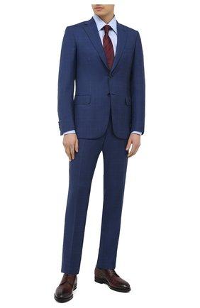 Мужской шерстяной костюм BRIONI синего цвета, арт. RA0J0M/P0A07/BRUNIC0 | Фото 1