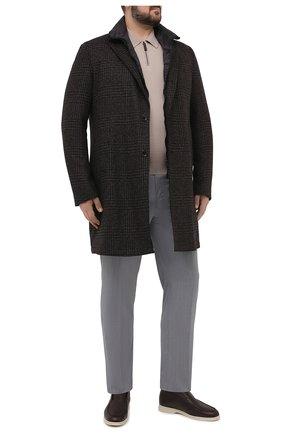 Мужские шерстяные брюки BRIONI серого цвета, арт. RPL800/P0A9I/MEGEVE | Фото 2
