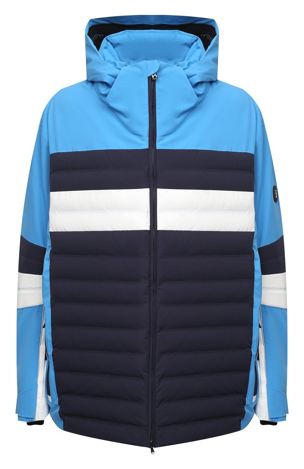 Мужская утепленная куртка BOGNER синего цвета, арт. 31224815   Фото 1