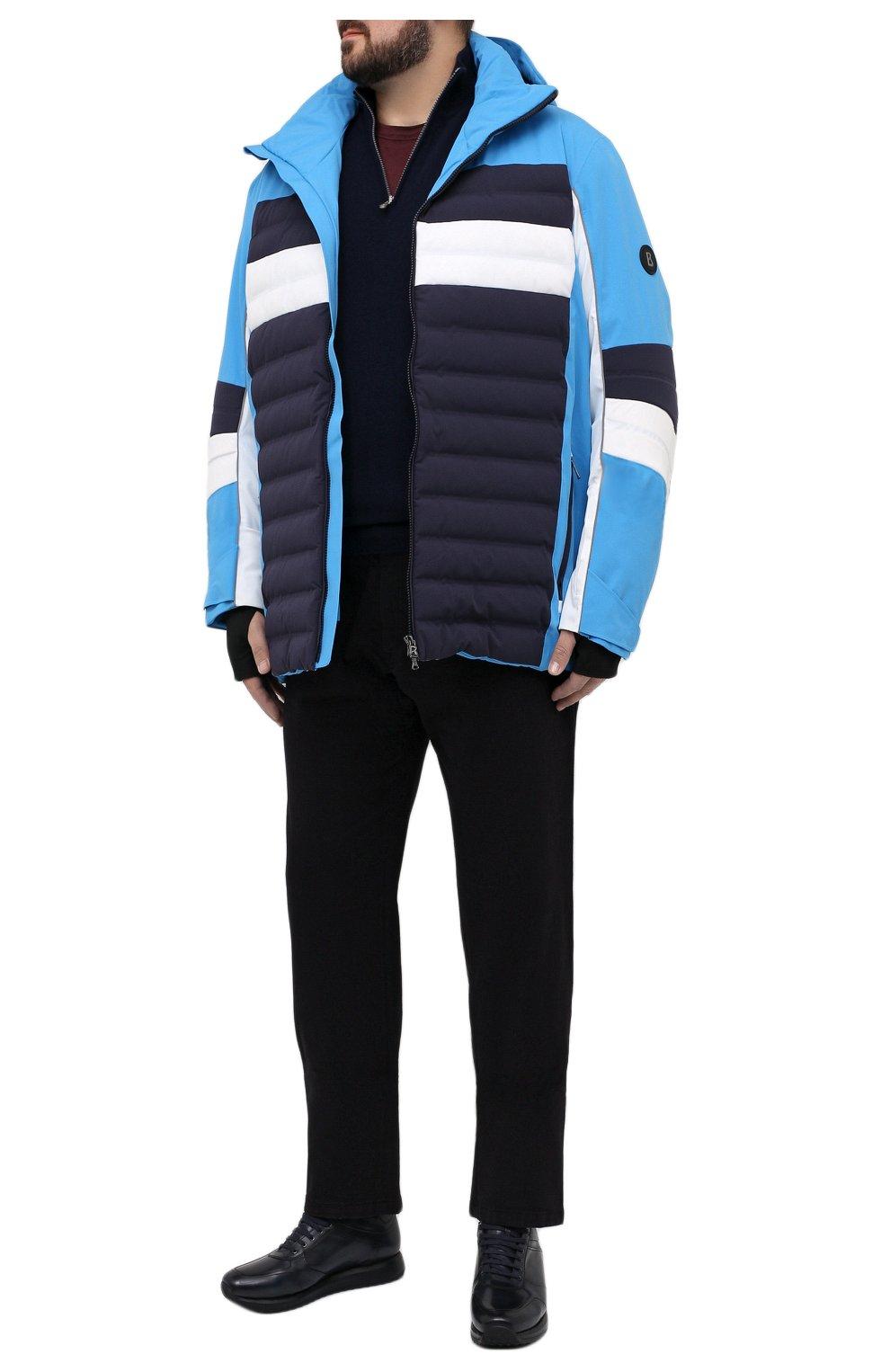 Мужская утепленная куртка BOGNER синего цвета, арт. 31224815   Фото 2