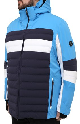 Мужская утепленная куртка BOGNER синего цвета, арт. 31224815   Фото 3