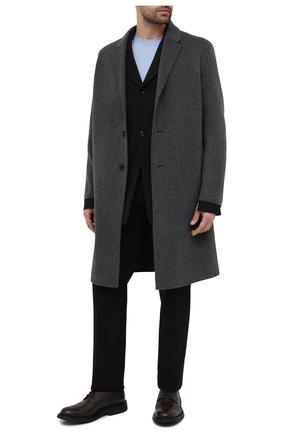 Мужские кожаные дерби BOTTEGA VENETA коричневого цвета, арт. 651308/V00H0 | Фото 2 (Материал внутренний: Натуральная кожа; Мужское Кросс-КТ: Броги-обувь; Стили: Классический)
