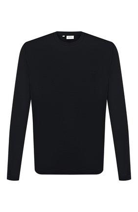 Мужская хлопковый лонгслив BRIONI черного цвета, арт. UJFN0L/PZ600 | Фото 1