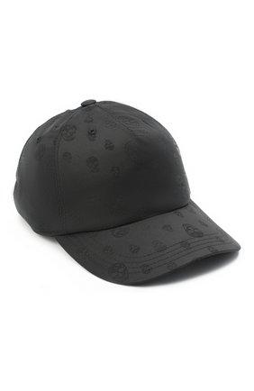 Мужской бейсболка ALEXANDER MCQUEEN черного цвета, арт. 624389/4401Q | Фото 1
