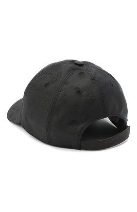 Мужской бейсболка ALEXANDER MCQUEEN черного цвета, арт. 624389/4401Q | Фото 2