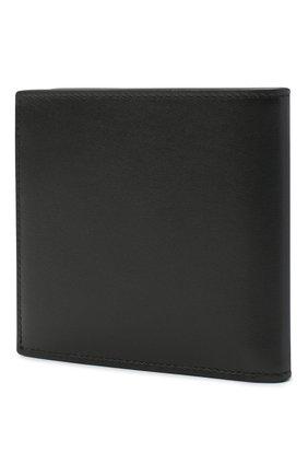 Мужской кожаное портмоне ALEXANDER MCQUEEN черного цвета, арт. 602137/1SJ7B | Фото 2