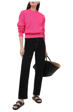 Женский свитер BOSS розового цвета, арт. 50443148 | Фото 2