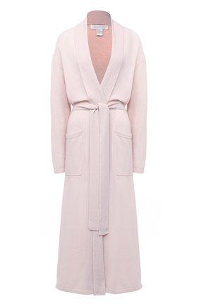 Женский кашемировый халат ARLOTTA светло-розового цвета, арт. 2011 | Фото 1