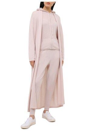 Женский кашемировый халат ARLOTTA светло-розового цвета, арт. 2011 | Фото 2