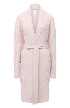 Женский кашемировый халат ARLOTTA розового цвета, арт. 2022 | Фото 1