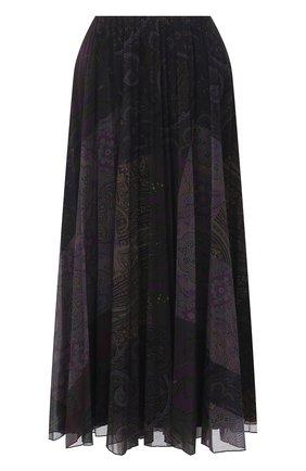Женская плиссированная юбка RALPH LAUREN бордового цвета, арт. 293835472 | Фото 1