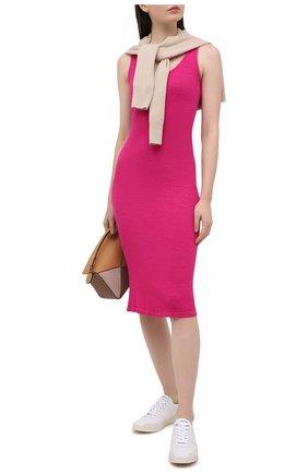 Женское платье MONROW розового цвета, арт. HD0389 | Фото 2