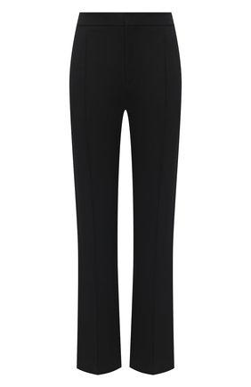 Женские шерстяные брюки CHLOÉ черного цвета, арт. CHC21SPA05066 | Фото 1