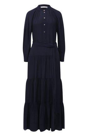 Женское платье CHLOÉ темно-синего цвета, арт. CHC21SR002032 | Фото 1
