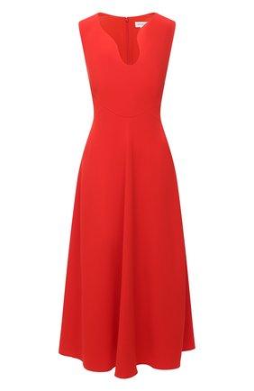 Женское платье VICTORIA BECKHAM красного цвета, арт. 1121WDR002329A | Фото 1